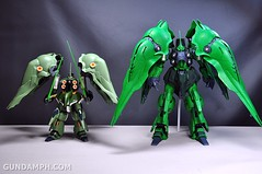 1-100 Kshatriya Neograde Version Colored Cast Resin Kit Straight Build Review (130)