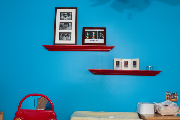ledge shelves