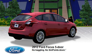 Ford Focus Thrill Seeker Pack - Store - The Sims™ 3