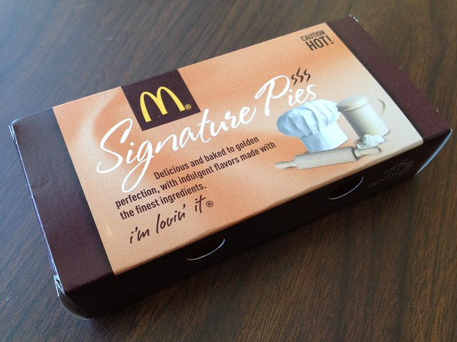 S'mores pie - McDonald's
