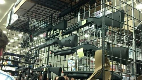 Toy Guns on Sale at Otakon 2012