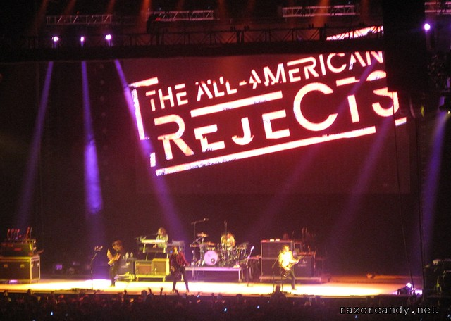 The All-American Rejects - O2 - 8th june, 2012