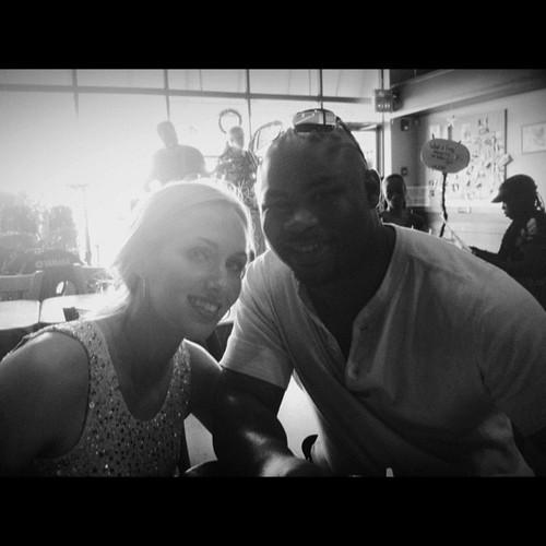 Having brunch with @jdlyness and @dooplenty :) #vscocam
