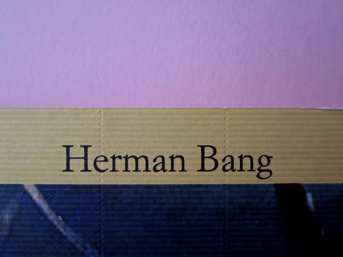 Herman Bang, I quattro diavoli, Iperborea 2012. [resp. grafica non indicata]. Copertina (part.), 2