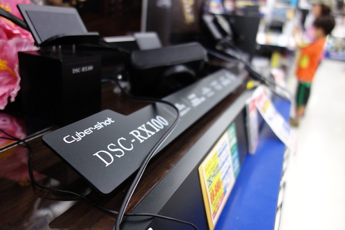 SONY Cybershot DSC-RX100 f/2.0 28mm