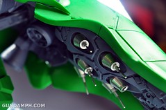 1-100 Kshatriya Neograde Version Colored Cast Resin Kit Straight Build Review (117)