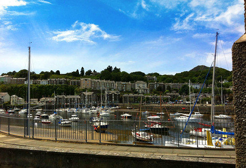 Porthmadog harbour and marina