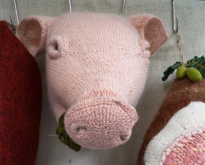 Hog's head/ Schweinskopf/ Tête de cochon