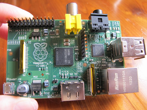 Raspberry Pi in my paws!