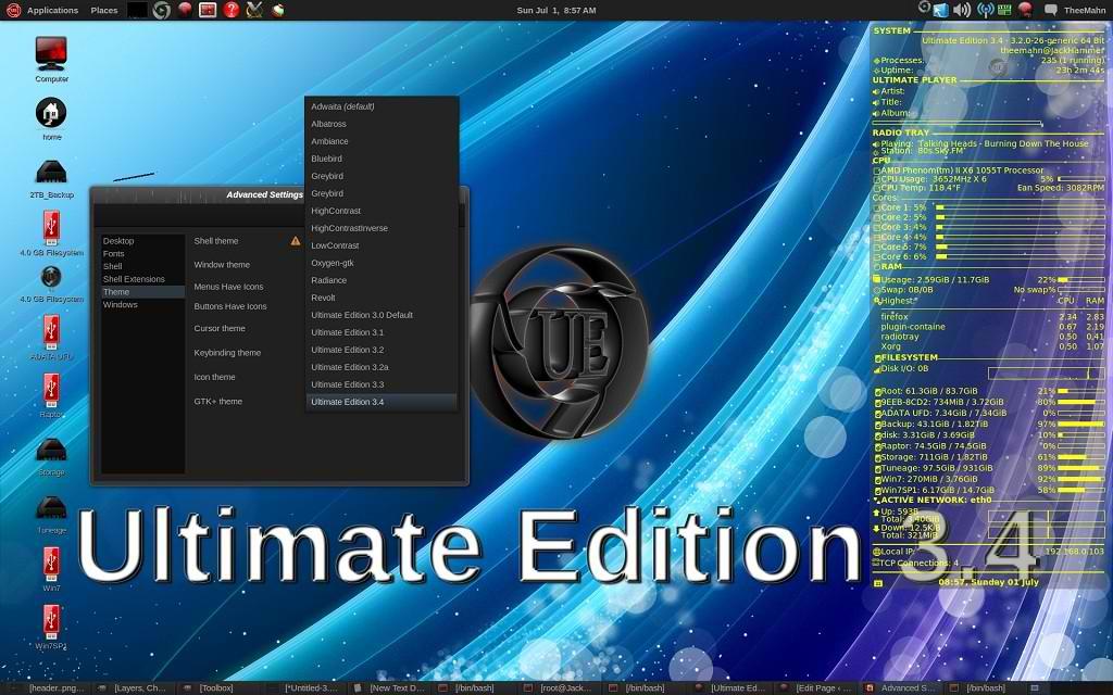 ubuntu ultimate edition
