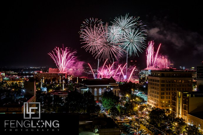 Fourth of July 2012 | Centennial Olympic Park | Atlanta Commercial Time-Lapse Photographer