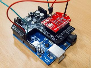 Arduino with RNXV wireless Module