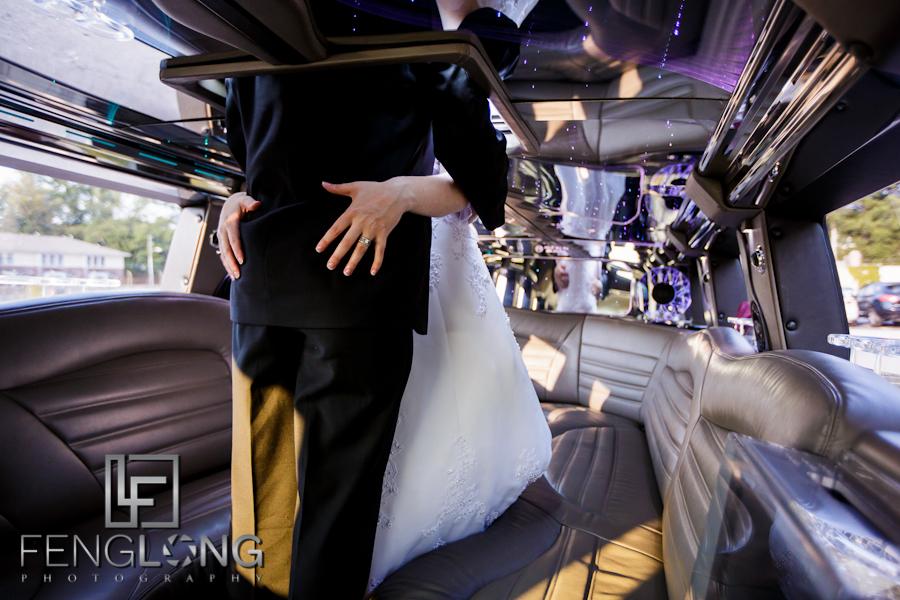 Brittany & Jarrett's Wedding | Peachtree Christian Church & Wahoo! Grill | Atlanta Decatur Wedding Photographer