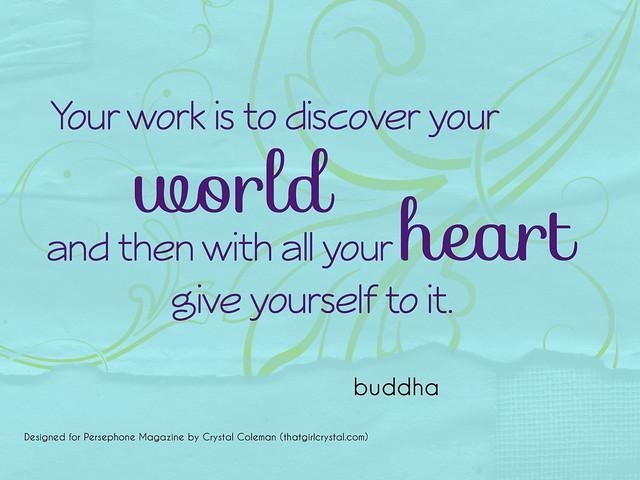 Persephone Magazine Positivity Mantra Week 18