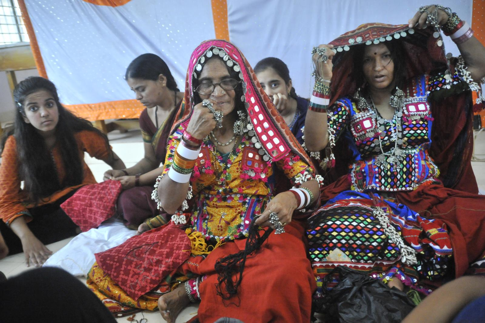 The LAMBADA and other handicraft techniques were learnt by the youngsters