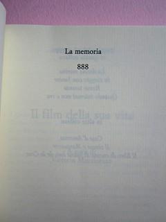 Angelo Morino, Il film della sua vita, Sellerio 2012. [resp. grafica non indicata]. Pagina dell'occhiello (part.), 1