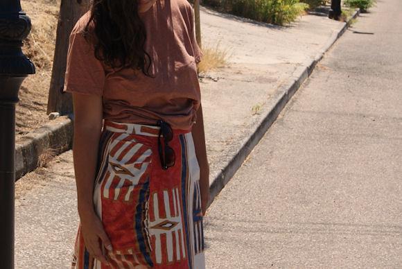 Falda tribal