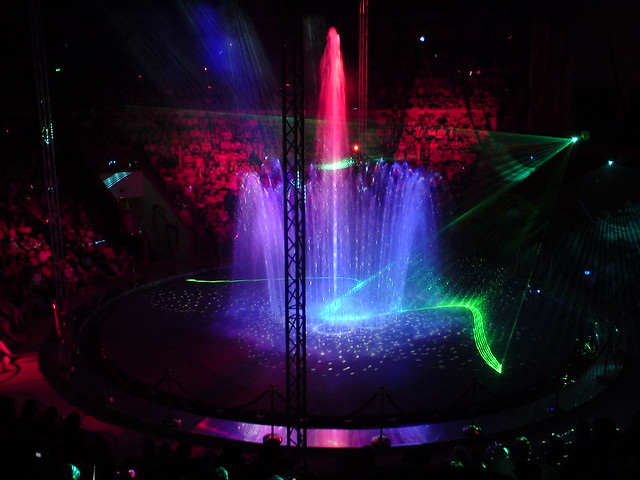 Фонтаны в Цирке на Фонтанке // Fountains at Circus at Fontanka