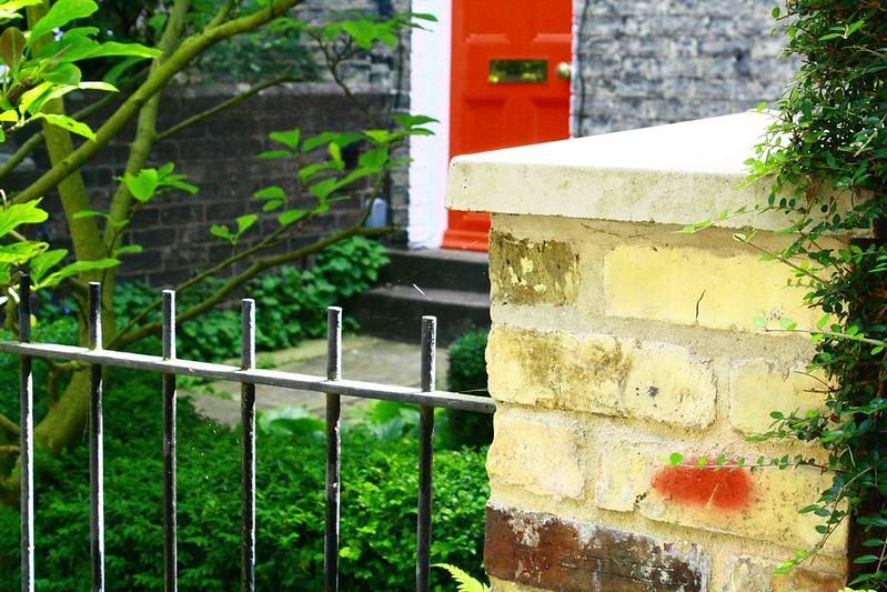 red door, melbourne place, cambridge