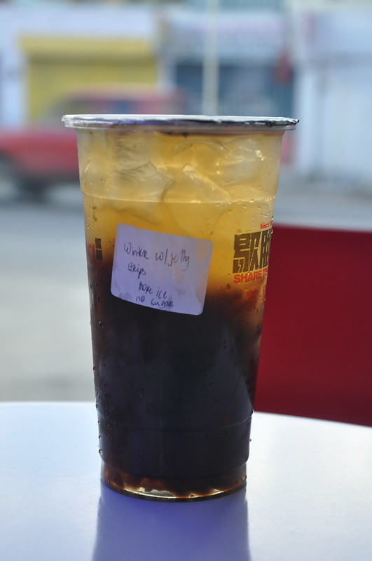 Wintermelon Tea with Grass Jelly