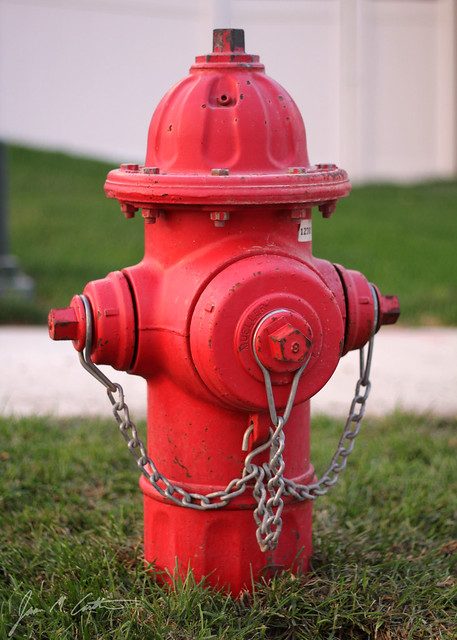 091012 Red Hydrant