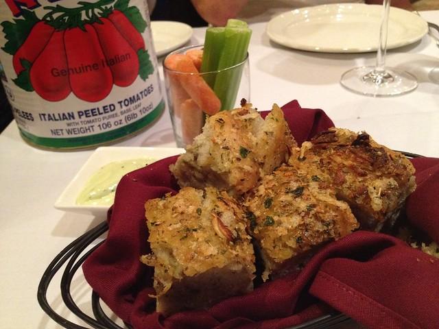 Focaccia and crudite - Briscola