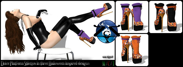 ZcZ Dulce Platform Stiletto Heels