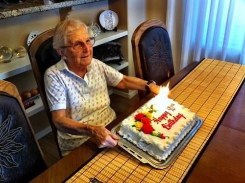 Nana's 90th birthday!