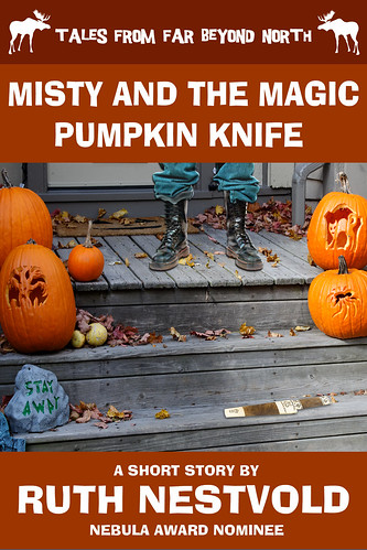 Misty and the Magic Pumpkin Knife