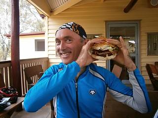 Nick and his Burger