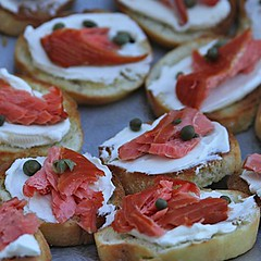 Salmon Crostini sqr