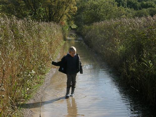 Flooded paths