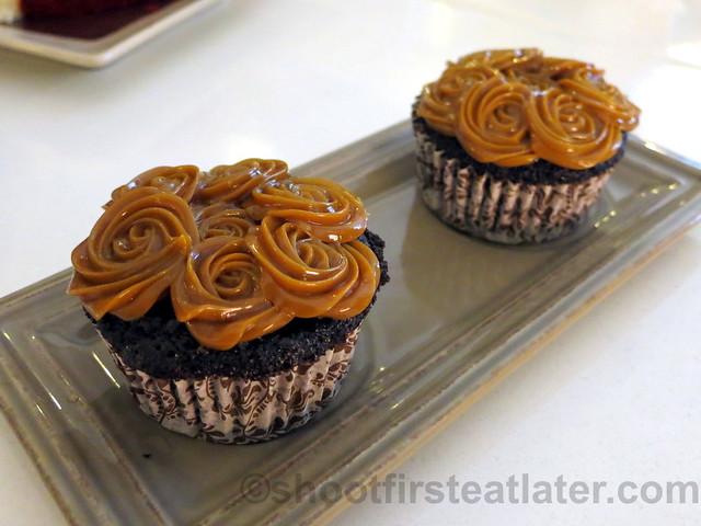 choco yema cupcake P70