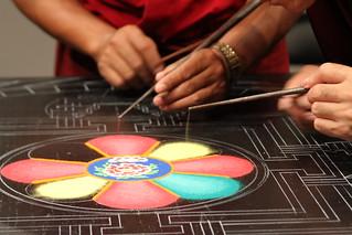 Sand Mandala September 2012