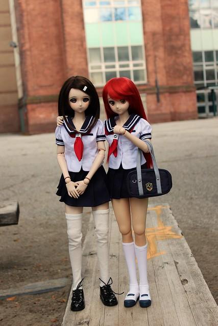 Haruka and Yoko