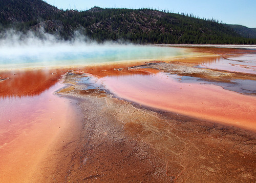 Grand Prismatic Spring - Middle Geyser Basin