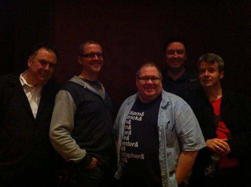 Philip Caveney, David Gatward, Tommy Donbavand, Barry Hutchison and Jon Mayhew