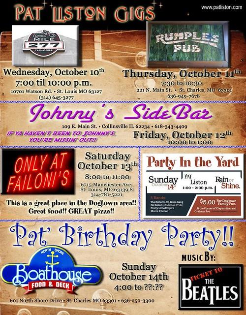 Pat's Birthday Party