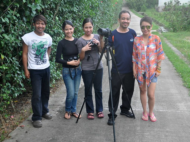 with members of the Philippine Native Plant Conservation Society