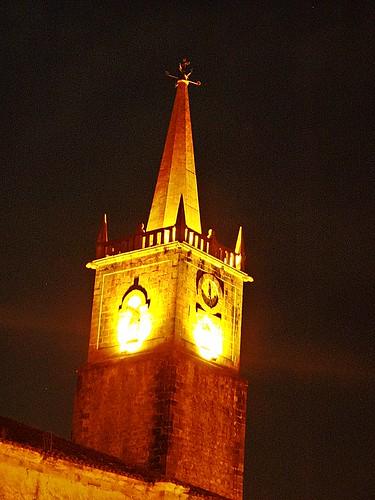 Torre de la iglesia de Comillas