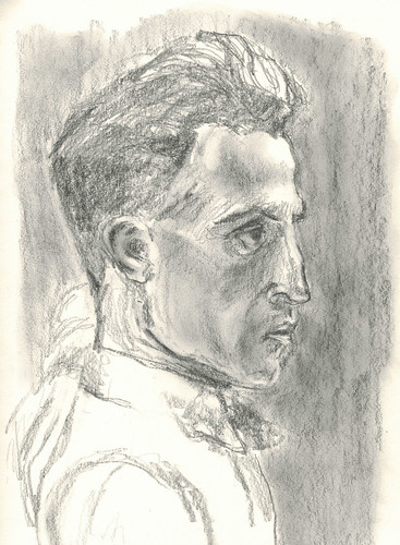 young Duchamp by husdant