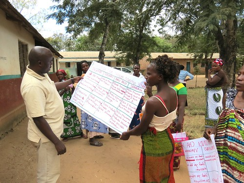 Tanzania Dairy Goats and Root Crops Project: M&E training