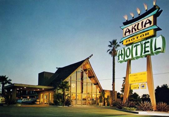 Akua Motor Hotel - 1018 East Orangethorpe Avenue, Anaheim, California U.S.A.