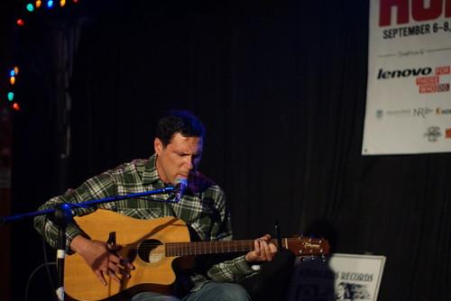Damien Jurado, Berkeley, Hopscotch, Raleigh NC, 09/07/12