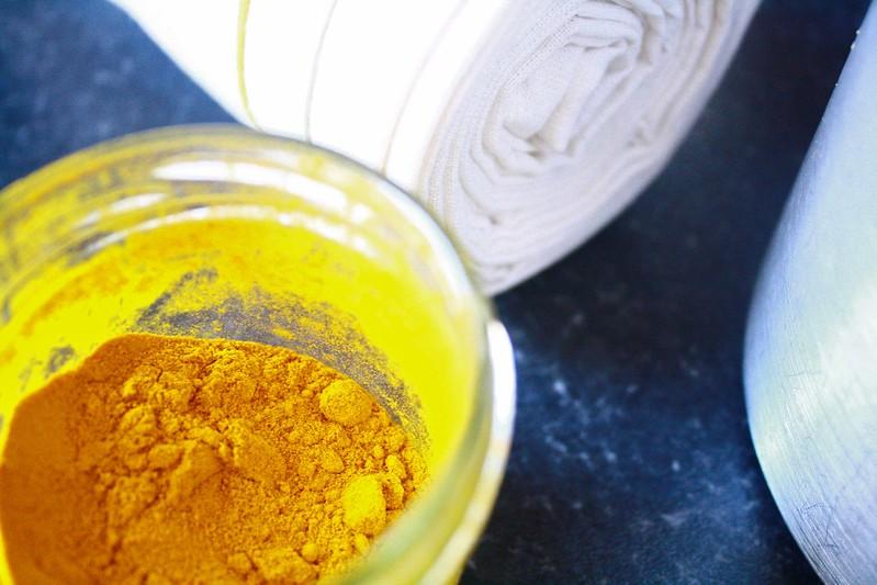 Turmeric for dye pot
