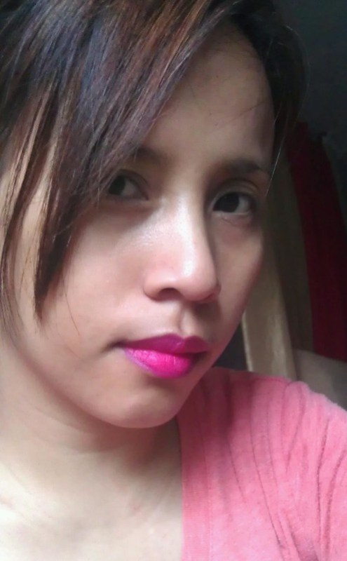 Shu Uemura Rouge Unlimited Supreme Matte Lipstick Pink on me
