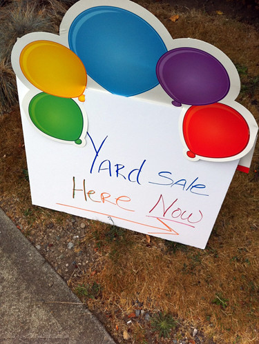 Yard Sale Here Now