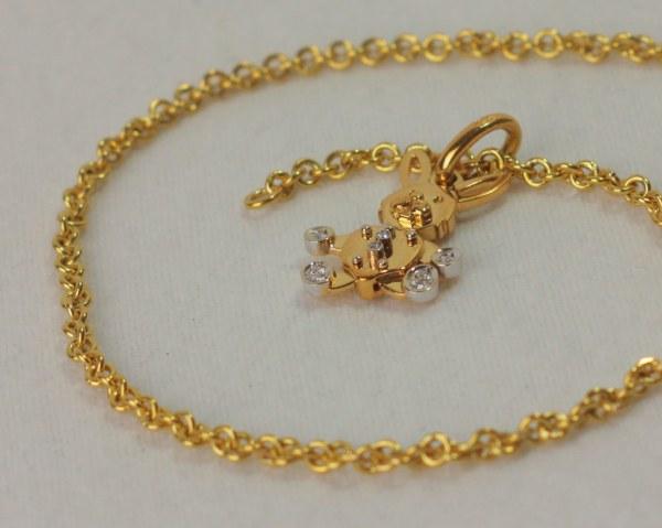Pomellato Necklace - Gold 750 18k Italian Jewelry Dodo