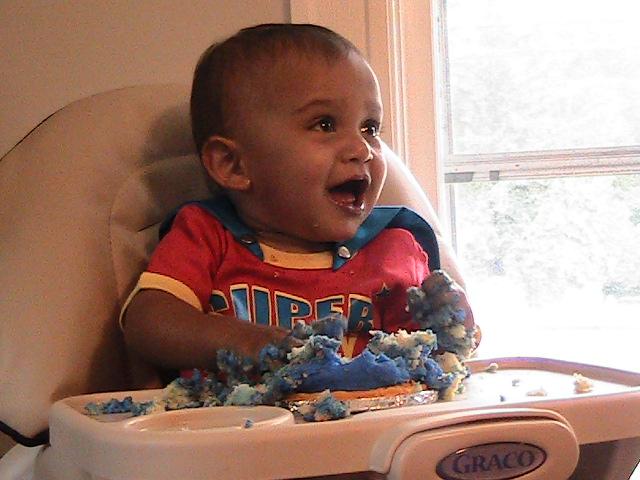 Avery's First Birthday