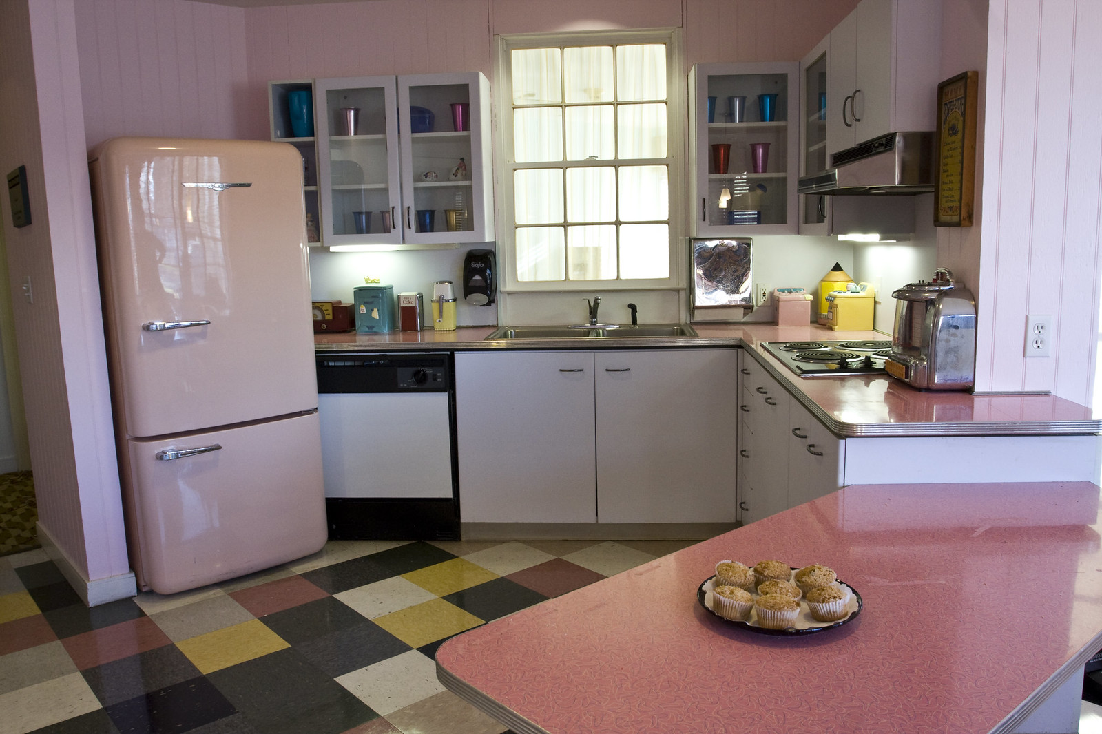 50s Style Kitchen by Chelsea Jewish Foundation  50s
